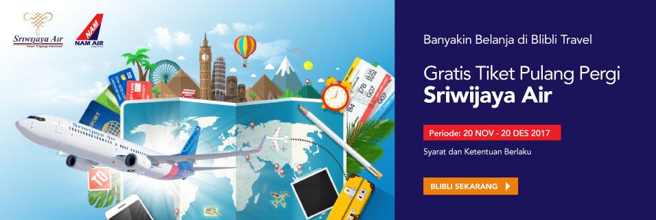 Gratis Tiket Sriwijaya Air