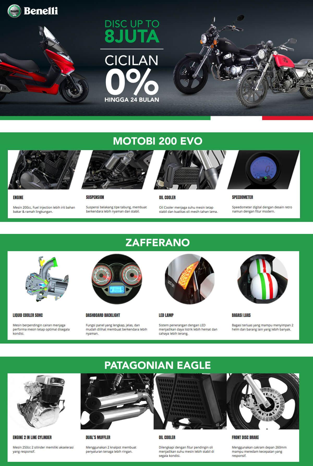 Kredit Benelli Motobi 200 Evo