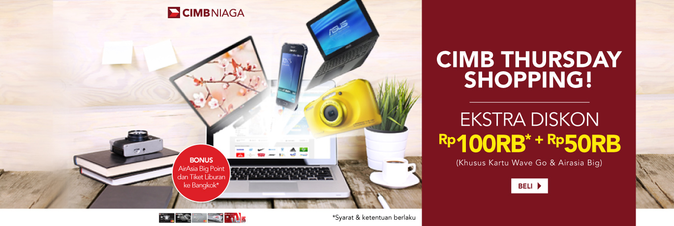 CIMB Thursday Shopping Gadget