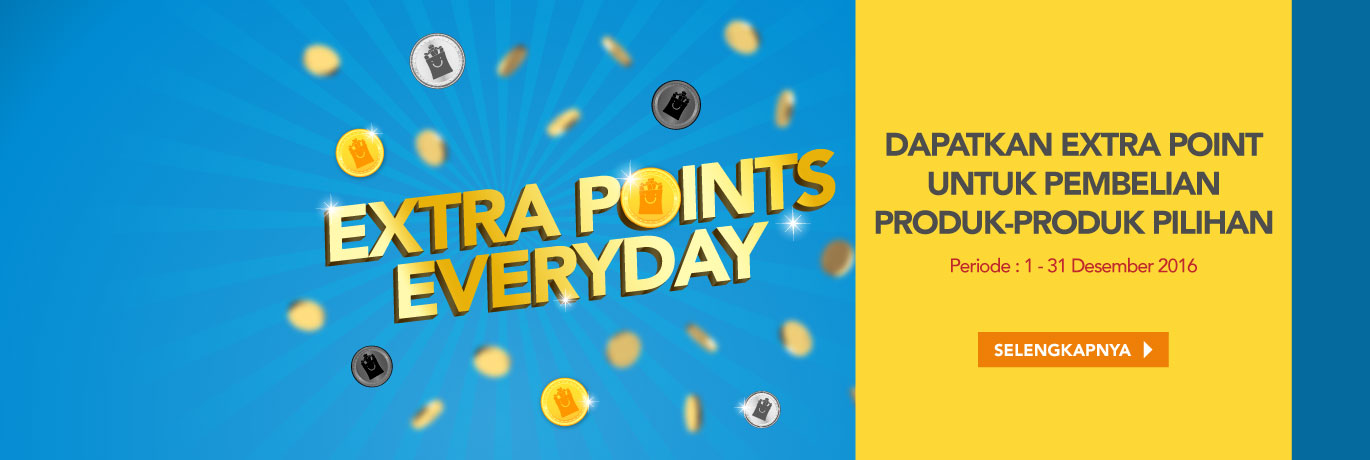 Promo Extra Point Everyday