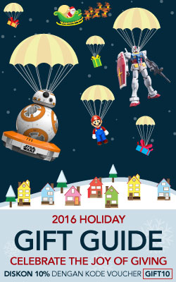 Holiday Gift Guide Mainan dan Video Games