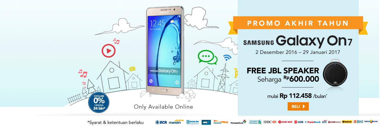 Samsung Galaxy On 7 Free JBL