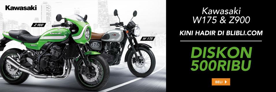 Kawasaki W175 dan Z900