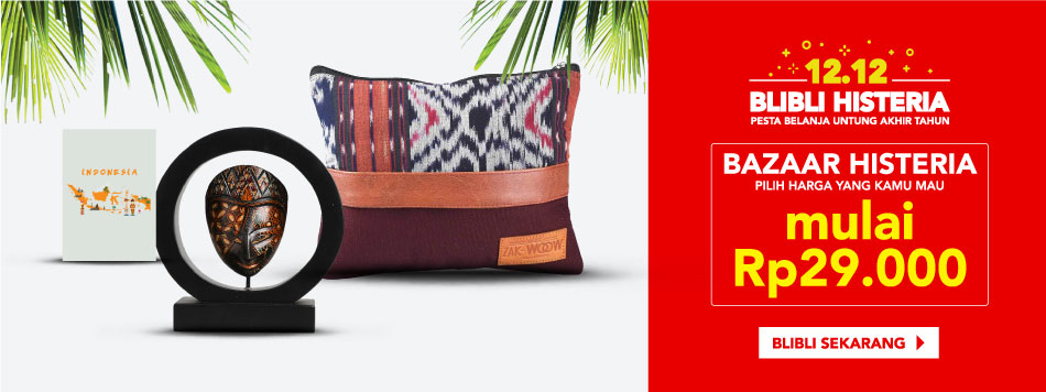 Toko Online Galeri Indonesia - 100% Indonesia   Blibli.com
