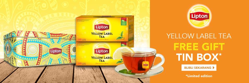 Lipton Tea Free Tin Box