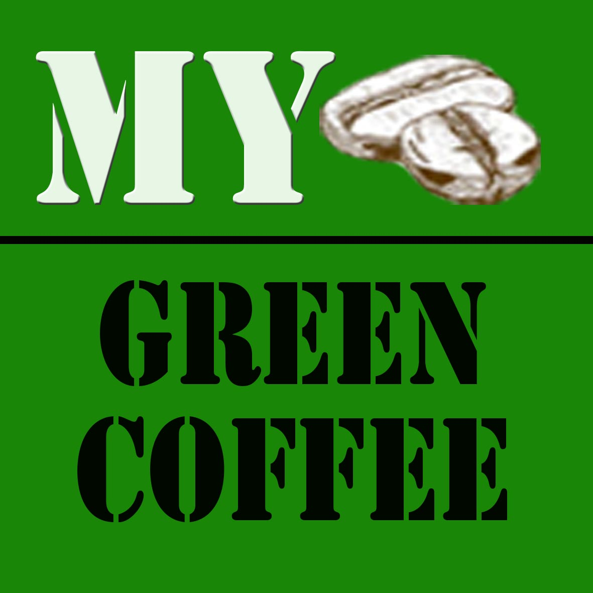 Jual My Green Coffe Biji Kopi Hijau [1000 g] Online