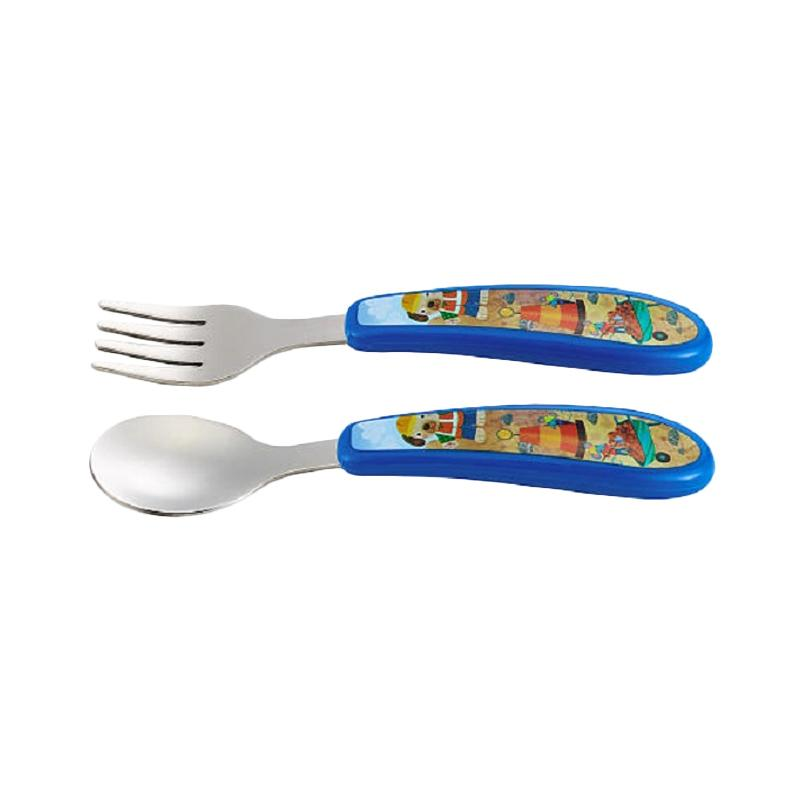 The First Years Self Fork & Spoon - Blue