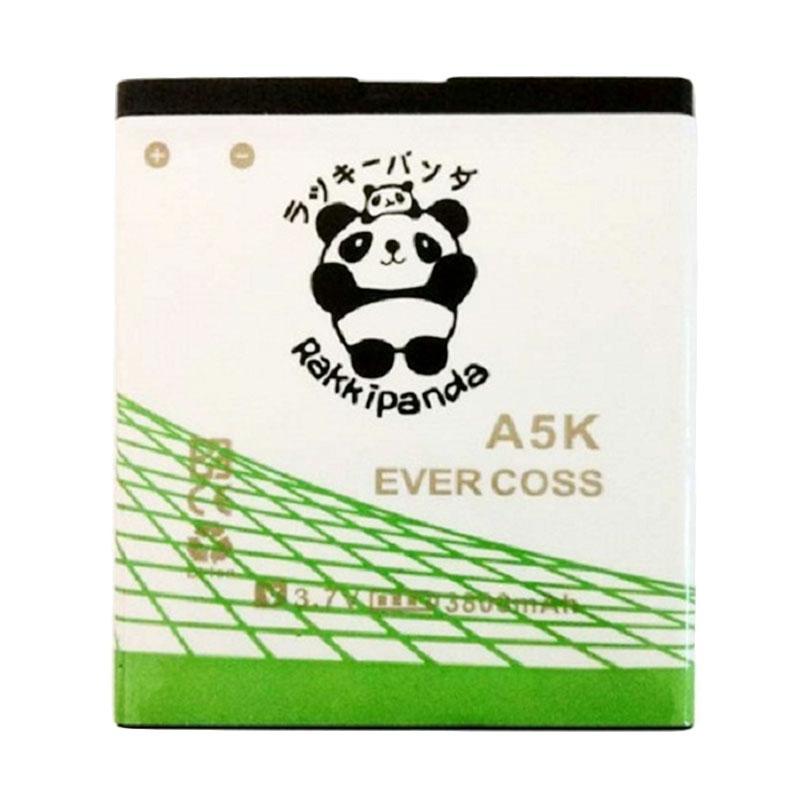 RAKKIPANDA Baterai Double Power IC for EVERCOSS A5K