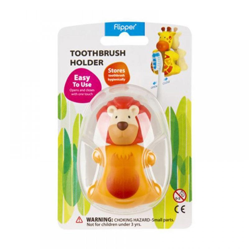 Flipper Toothbrush Holder - Lion