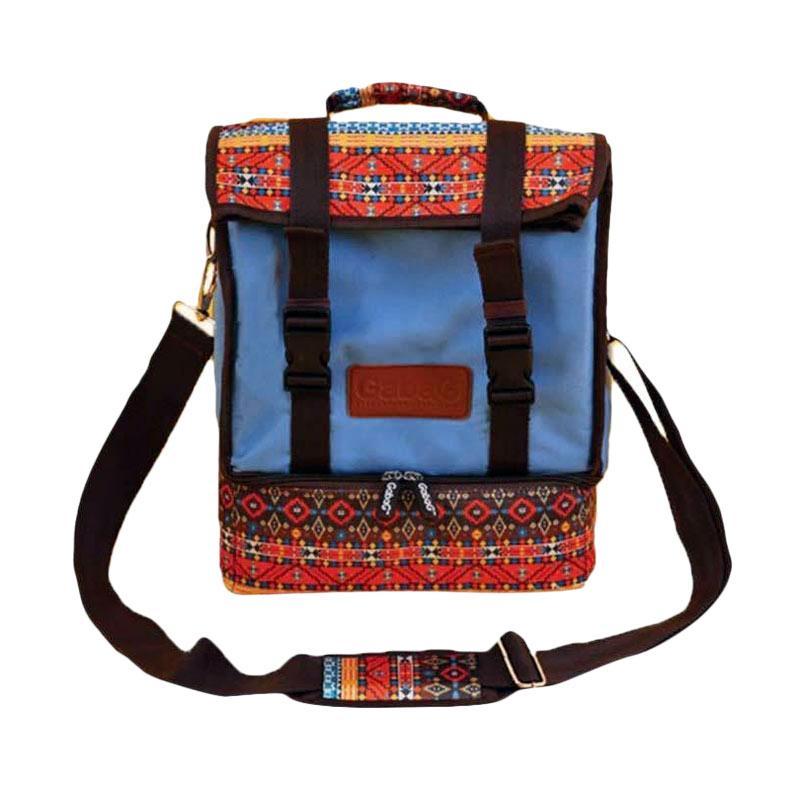 Gabag Cooler Bag - Tenun Biru