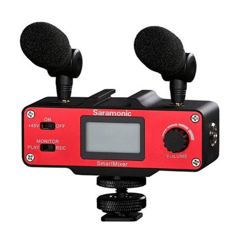 harga Saramonic Microphone Smart Mixer Audio and Video Solution for Mobile Phones Blibli.com