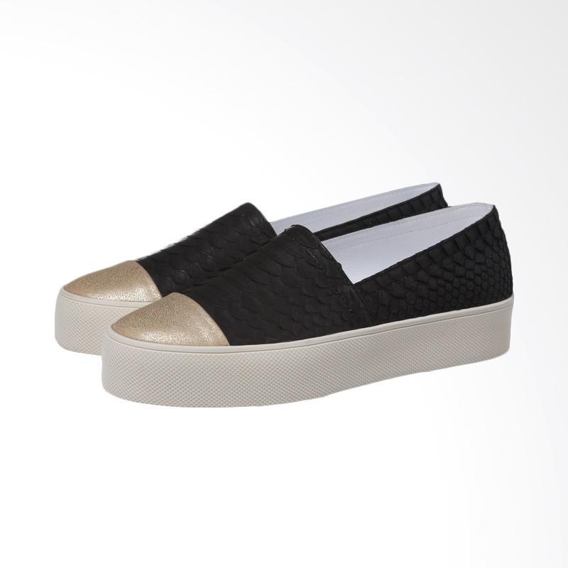 harga Marnova Flat Slip-on Coco Sepatu Wanita - Black Blibli.com
