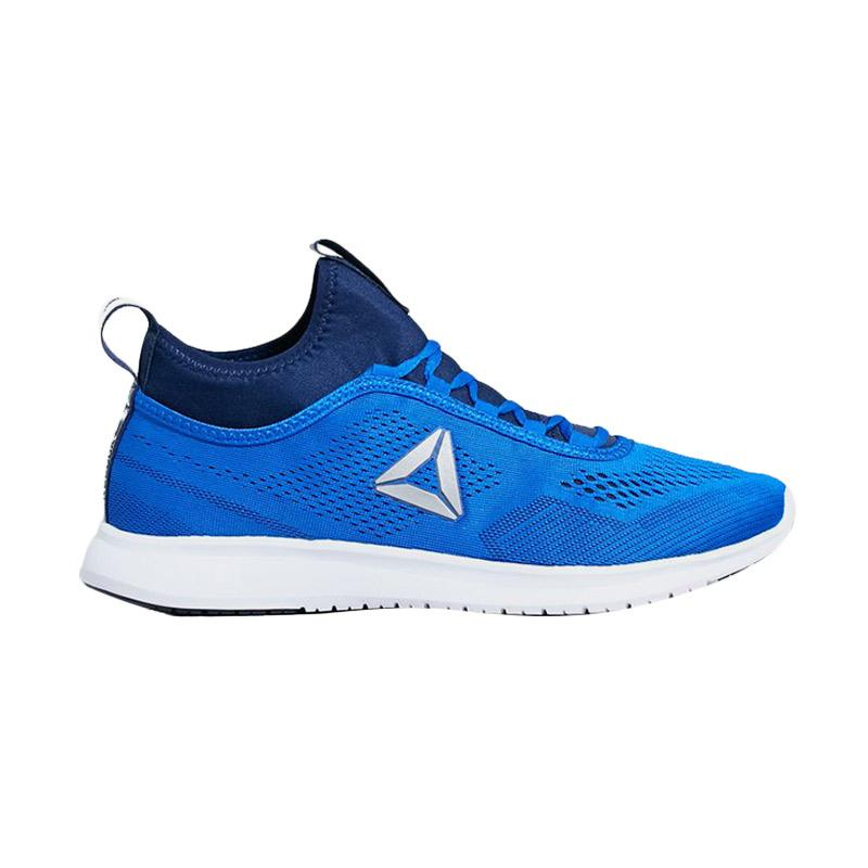 harga Reebok Runner Plus Tech Men's Shoes Sepatu Olahraga- Blue Retro BS5473 Blibli.com