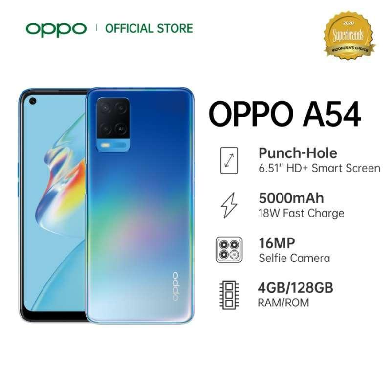 Harga dan Spesifikasi Oppo A54