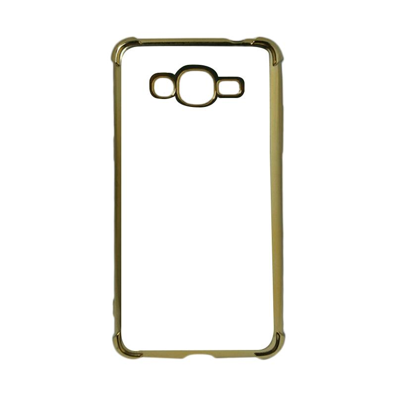 Case88 Anti Crack List Chrome Casing For Samsung Galaxy J2 Prime Bawah