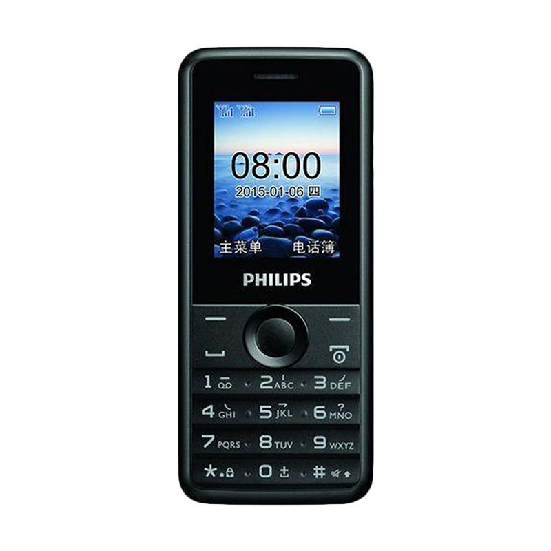 Philips E103 Handphone - Black