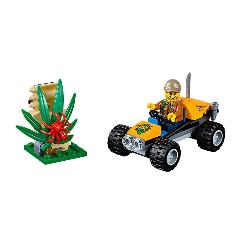 LEGO City 60156 Jungle Buggy Mainan Anak