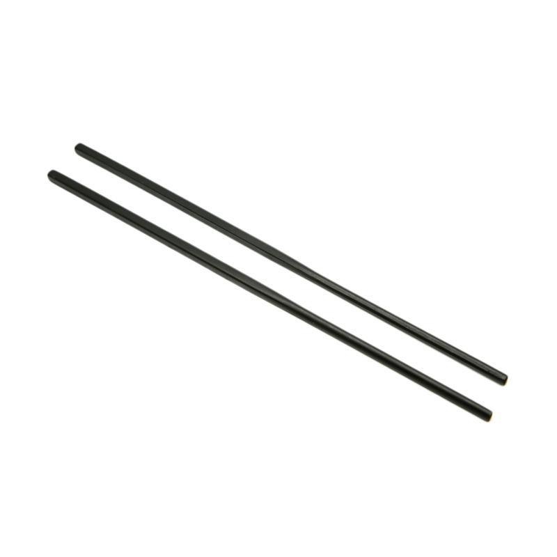 HAN Sumpit Melamine - Hitam [24 cm/ 10 Pasang/3 Pak]