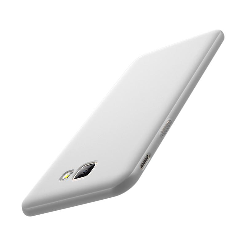 WEIKA Baby Skin Ultra Thin Hardcase Casing for Samsung Galaxy On 7 2016 or J7 Prime - Silver
