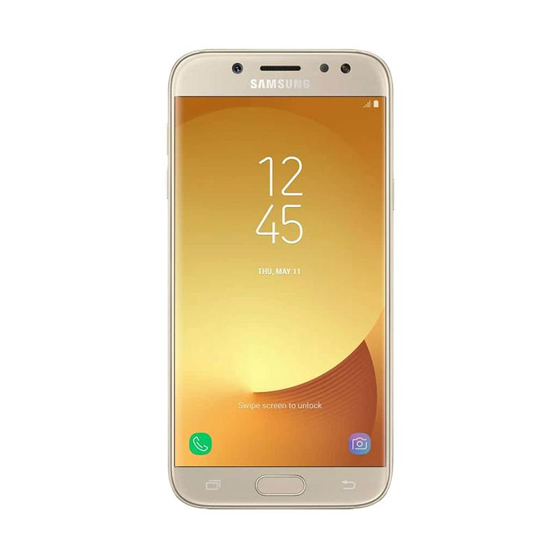 Samsung Galaxy J7 Pro 2017 Smartphone - Gold [32GB/RAM 3GB]