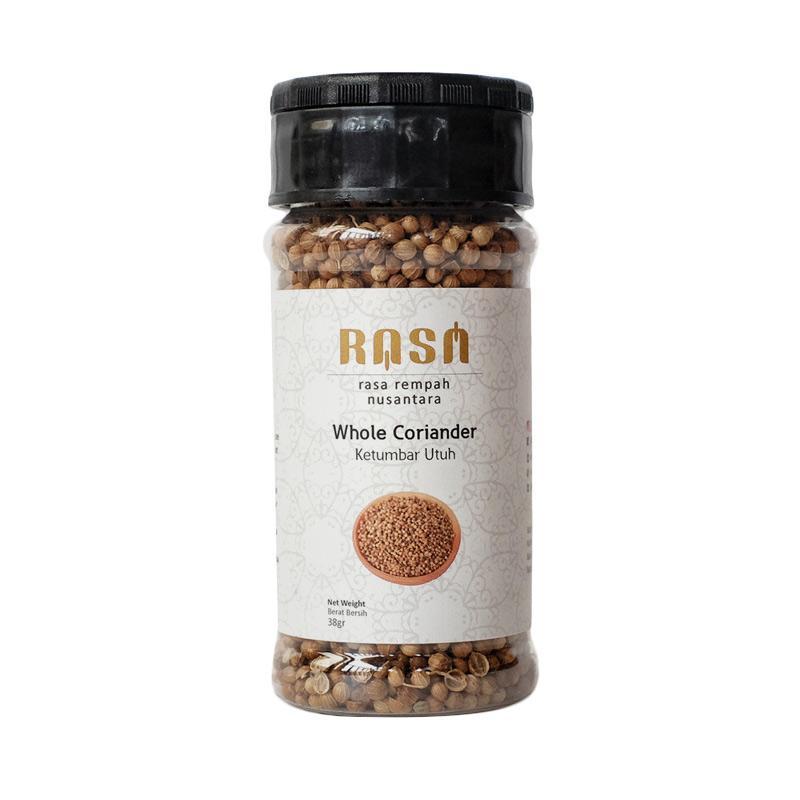 RASA Whole Coriander Seeds Ketumbar Utuh Bumbu Masak [38 g]