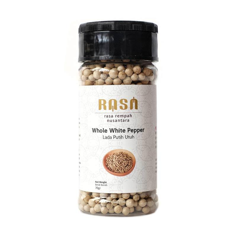 RASA Whole White Pepper Lada Putih Utuh Bumbu Masak [70 g]