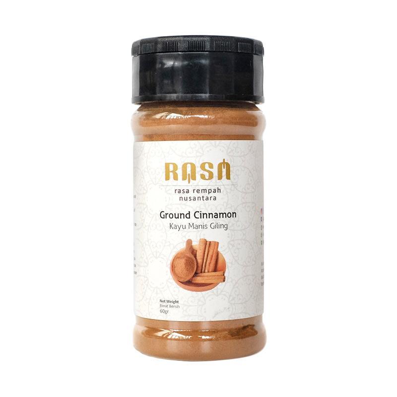 RASA Ground Cinnamon Kayu Manis Giling Bumbu Masak [60 g]