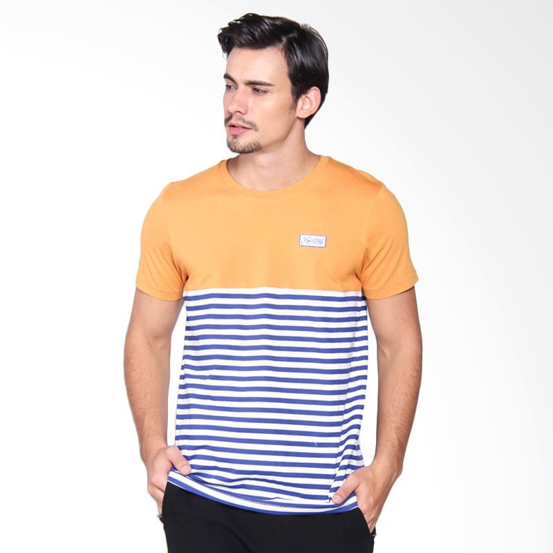 3Second 5009 Tshirt Pria - Yellow 150091712