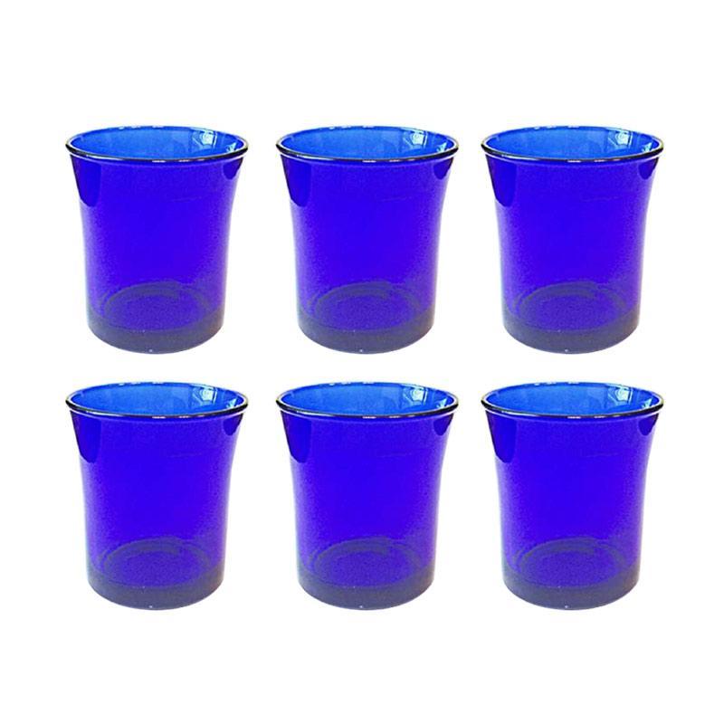 Duralex Tumbler Set Gelas - Saphir [21 CL/210 mL/ 6 pcs]