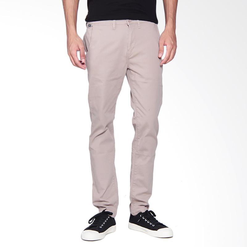 3SECOND 0109 Pants Celana Pria - Cream 101091713