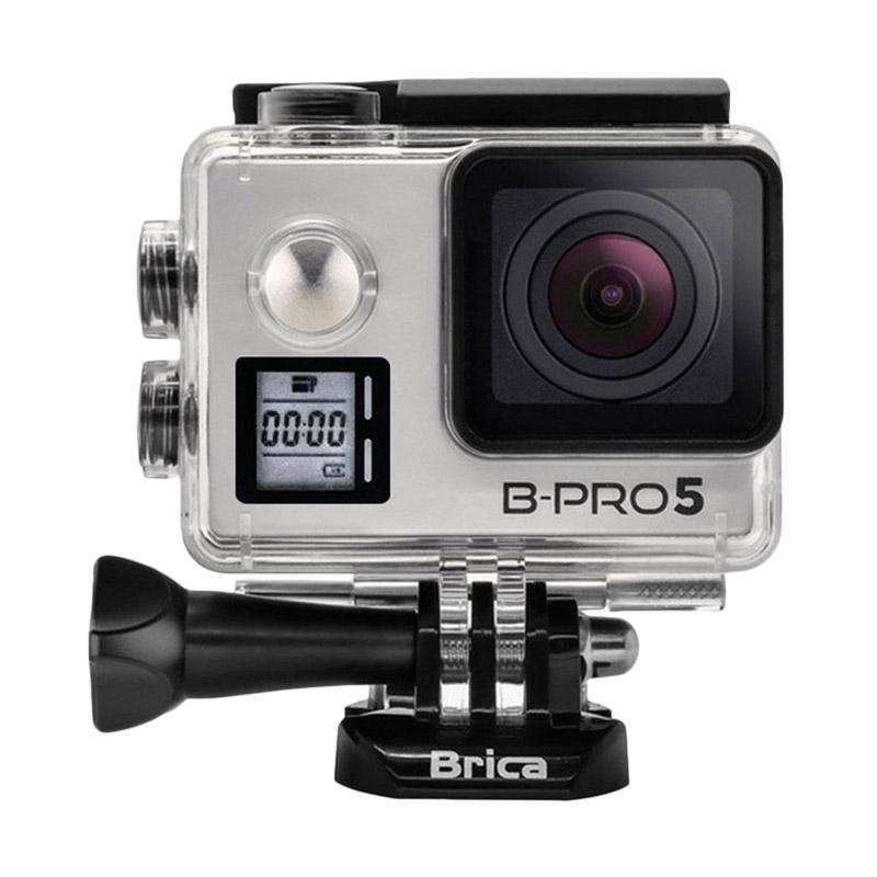 Brica B-Pro 5 Alpha Edition Mark IIs AE2s Combo Attanta Berrisom Action Camera - Silver