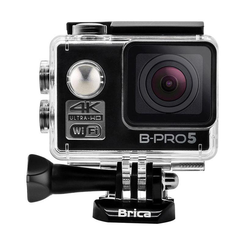 Brica B-PRO 5 Alpha Edition Mark II AE2 Combo Berrisom Paket Action Camera - Hitam