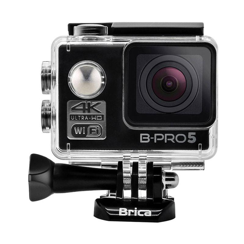 Brica B-PRO 5 Alpha Edition Mark II AE2 Combo Deluxe A Paket Action Camera - Hitam