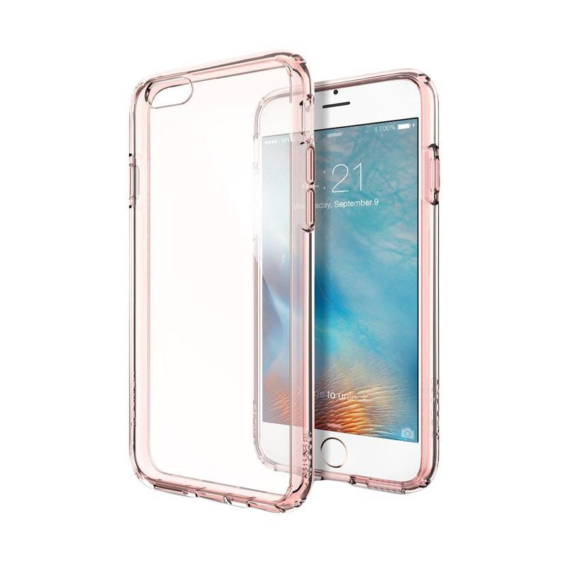 Spigen Ultra Hybrid casing iPhone 6s - Rose Crystal
