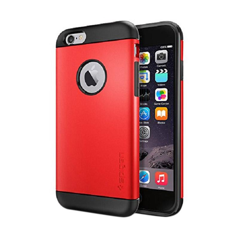 Spigen Slim Armor Casing for iPhone 6S or iPhone 6 - Electric Red