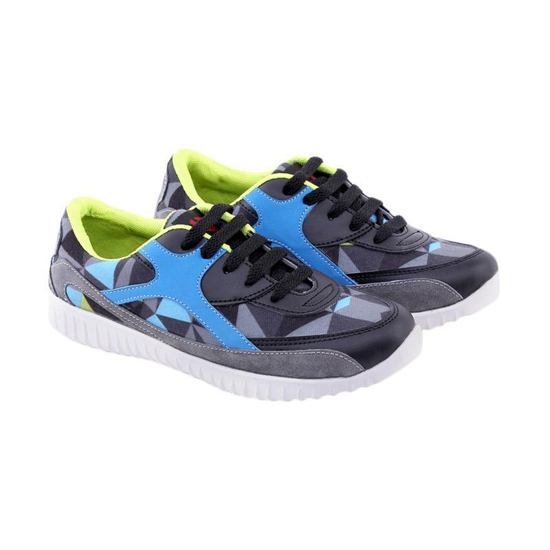 Garucci Running Shoes Sepatu Lari Wanita - Black GDA 7252