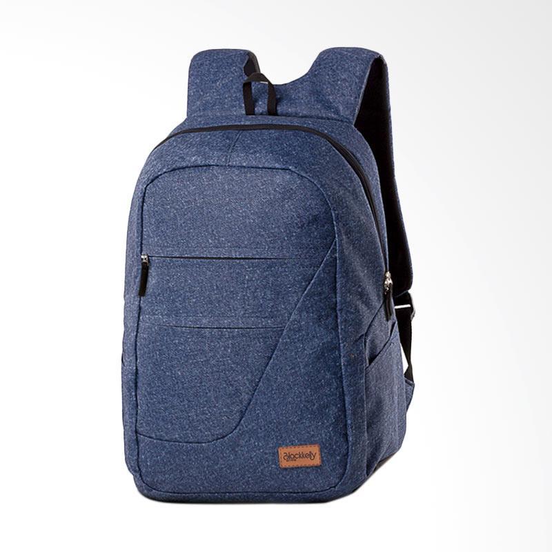 Jual Blackkelly Tas Pria Backpack - Dark Denim BK 472 Online - Harga ... 614ed5a812