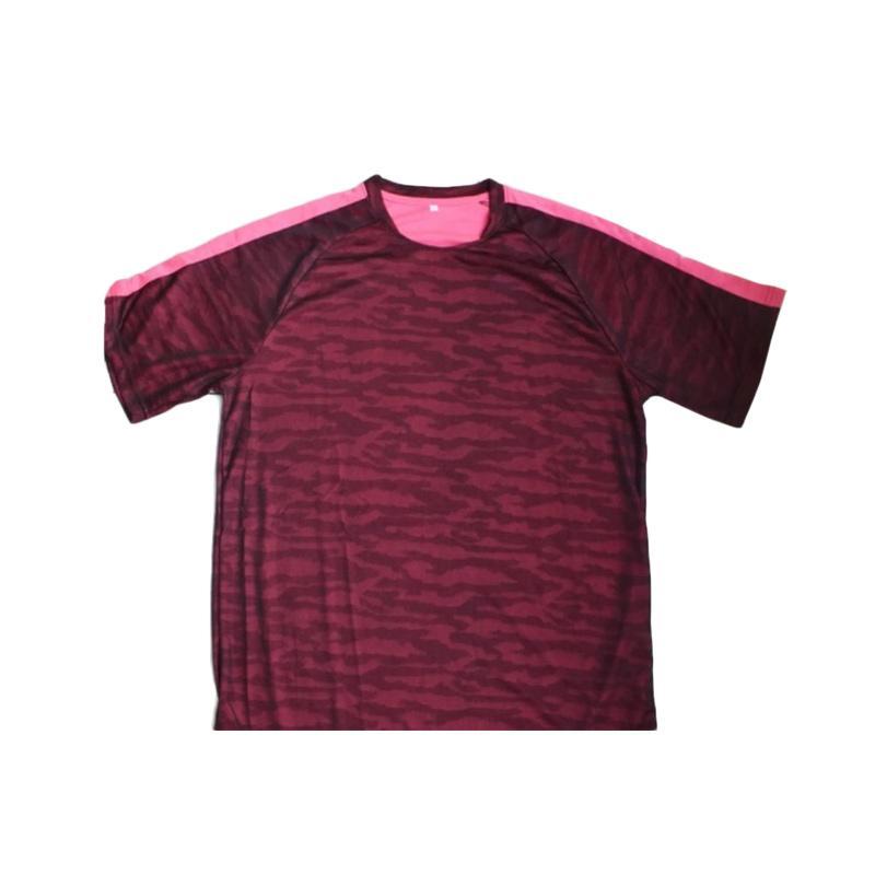 harga Ping Tai Fu Shi Loreng Polyester Import Kaos Pria 10# - Pink Champagne Blibli.com