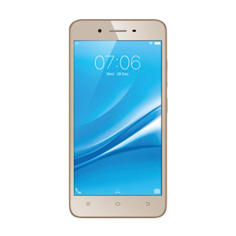 VIVO Y53 Smartphone - Gold [RAM 2GB/ROM 16GB ]