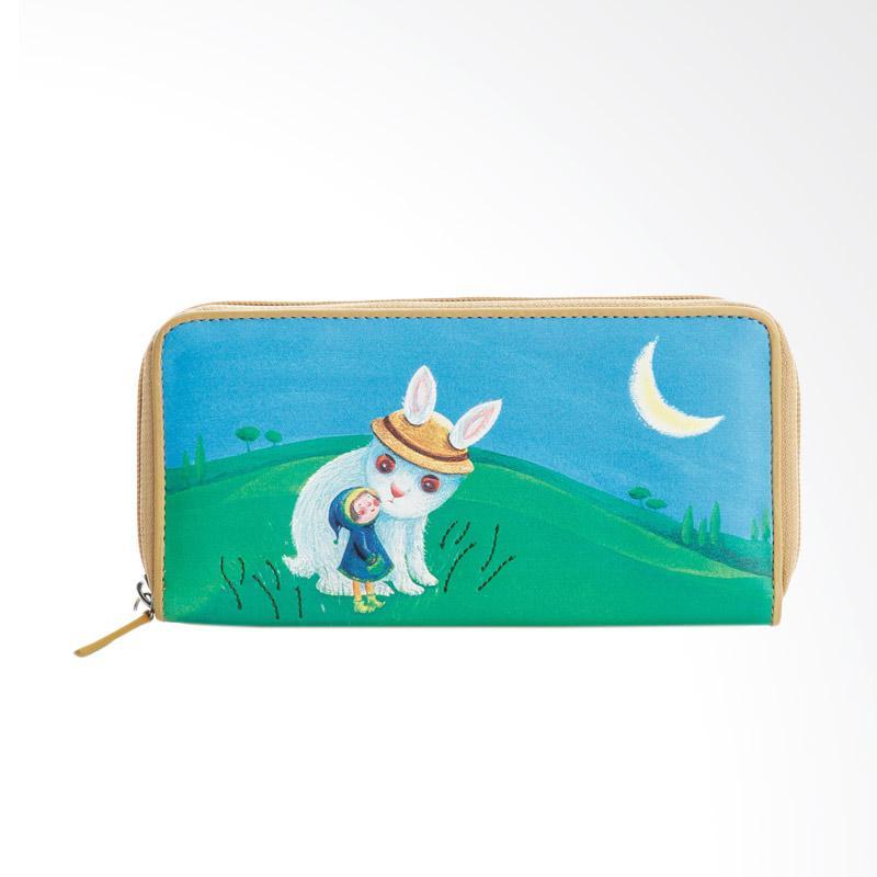 IPC Mansion Selected JIMMY Moonlight Rabbit Long Purse Dompet Wanita
