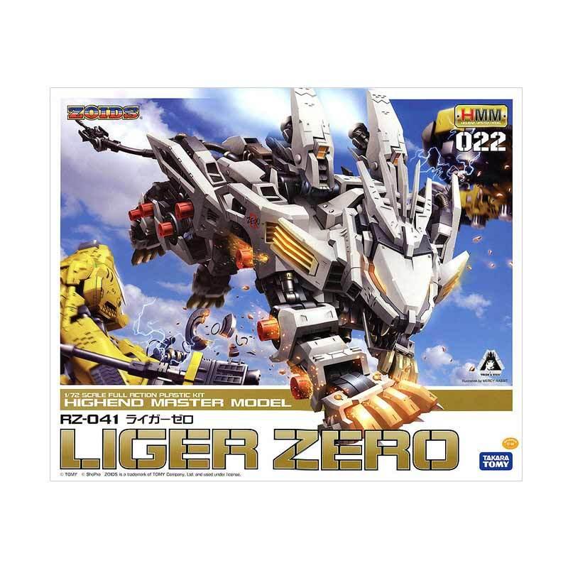 Kotobukiya Zoids HMM RZ-041 Liger Zero Model Kit [1:72]
