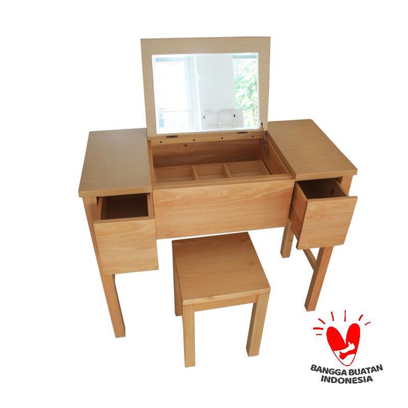Uwitan Alana Dressing Table - Natural