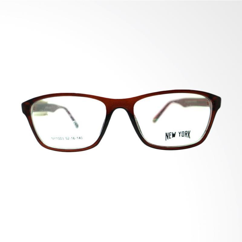 New York NY 1003 C4 Kacamata - Brown