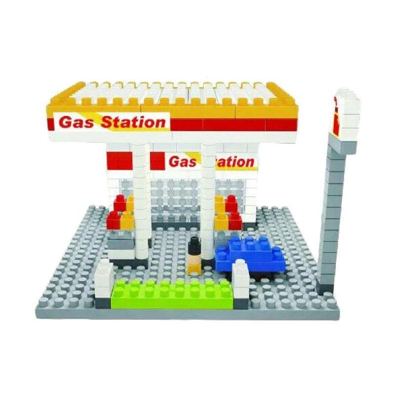 Wisehawk 2318 Gas Station Mini Blocks