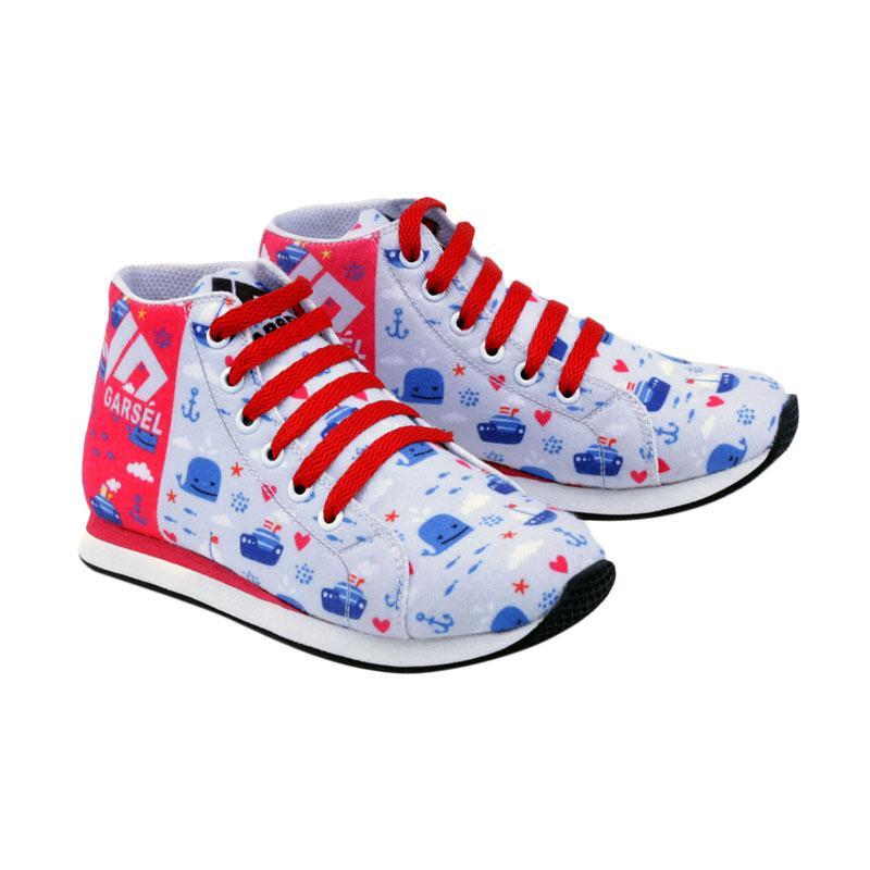 Garsel GJJ 9518 Sneakers Shoes Sepatu Anak Laki - Laki