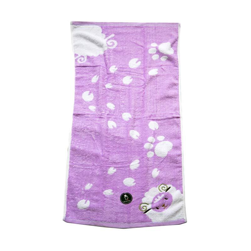 Dixon Embroidery Sheep 7069 Handuk Sport - Purple [35 x 80 cm]