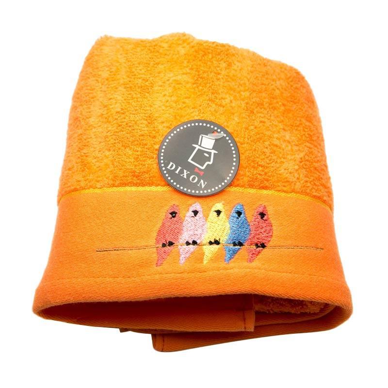 Dixon Bird Embroidery 7085 Handuk Sport - Orange [35 x 80 cm]