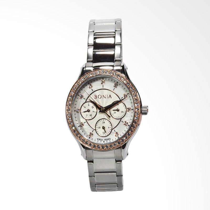Bonia BNB10303-2357S Jam Tangan Wanita - Silver