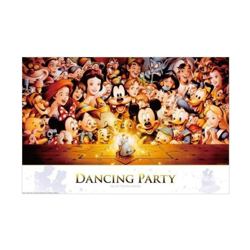 Tenyo Mickey & Minnie Dancing Party Disney Jigsaw Mainan Puzzle [1000 Pcs]