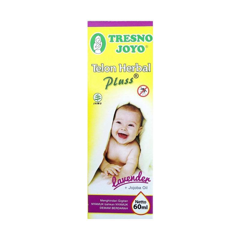 Tresno Joyo Minyak Telon Herbal Plus Lavender + Jojoba Oil [60 mL]